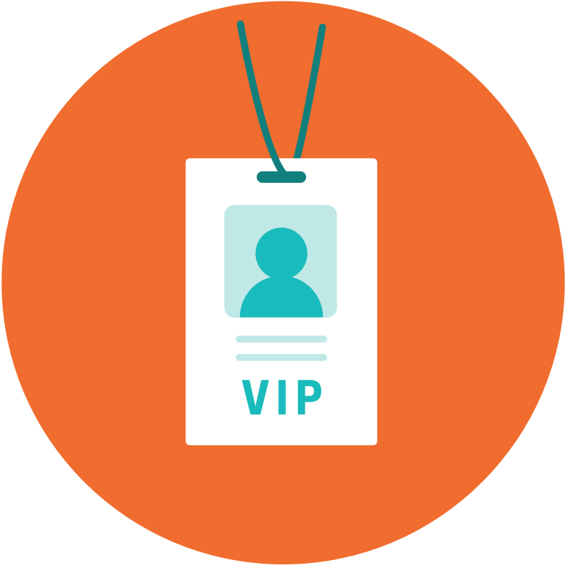 A VIP all access badge. They make life easier.